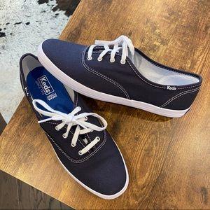 New Navy Blue Keds Size 8.5